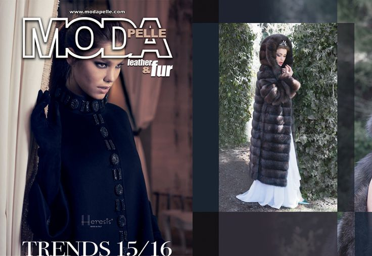 MODA PELLE Advertising September 2014 www.nevrisfurs.com