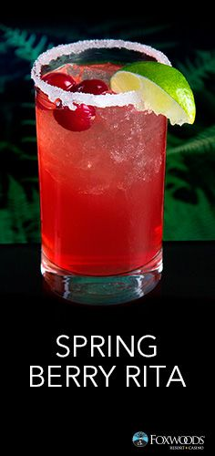 ... Berry Rita at Foxwoods! Will you give it a try? May 2016 #Spring #