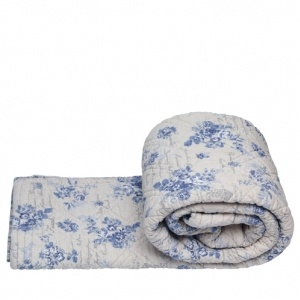 Quilt Camille Dusty Blue, Greengate quilts from Berry Red. GBP 135.