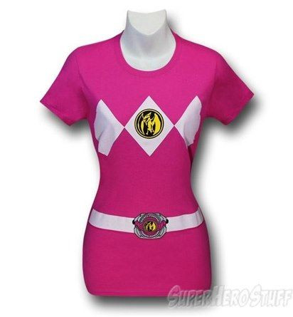 Power Rangers Pink Ranger Women's T-Shirt