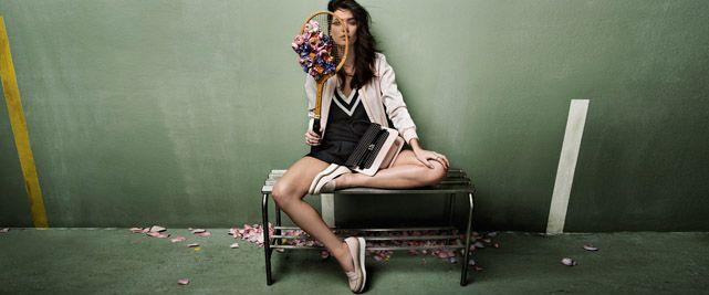 Sheila Marquez x Stradivarius Spring 2014