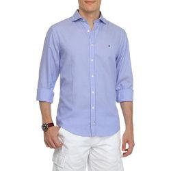 Camisa Social Tommy Hilfiger Amiston Listras