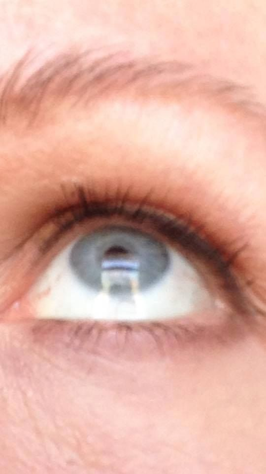"""Oh, the WONDERS of Integral Collagen!  """"I FINALLY HAVE LASHES!!"""" Kathy P. www.TrimHealthyMama.com"""