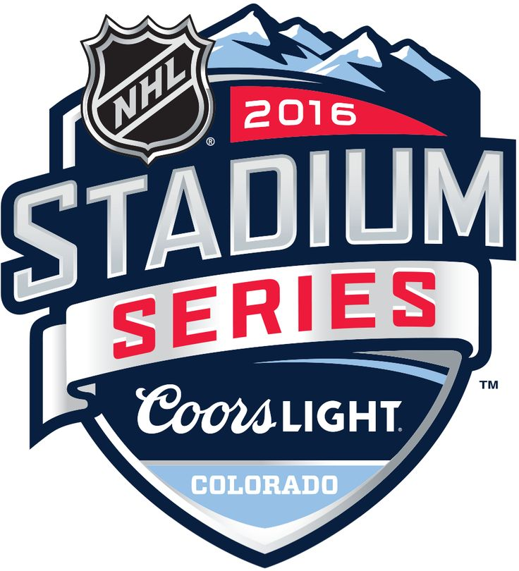 NHL Stadium Series Primary Logo (2016) - 2016 NHL Stadium Series - Colorado Avalanche VS  Detroit Red Wings at Coors Field in Denver, Colorado on February 27, 2016.