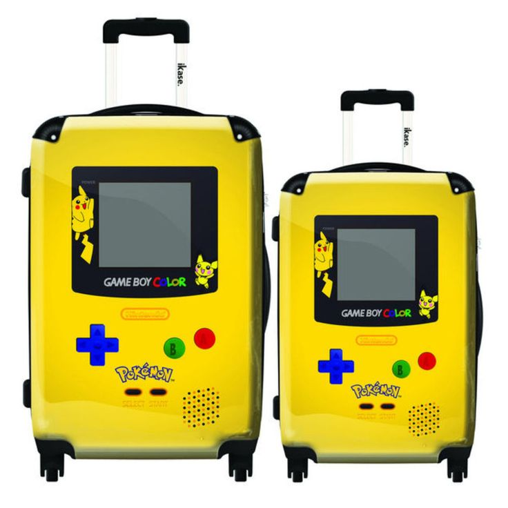 Pokemon Game Boy Luggage Suitcase Set 2 Rolling Spinner Wheeled Travel Gear New Buy #ebay #kids #products #shopping #new #onlineshopping #gifts #deals #birthday #home #childrens #christmas #presents