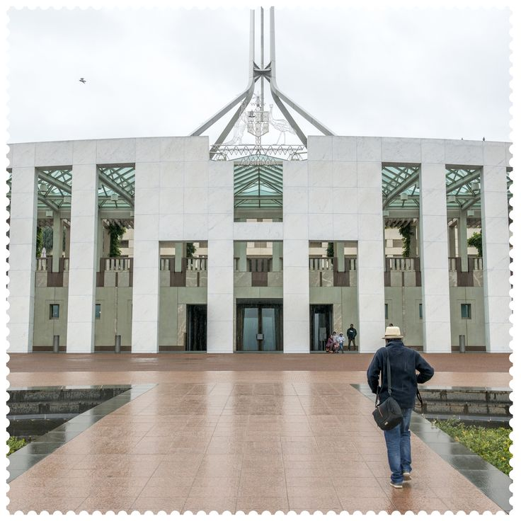 On Capital Hill in Canberra, 2600. #AustraliaConnected, #Australia, #ACT, #Canberra, #postcode2600, #auspol, #ParliamentHouse.
