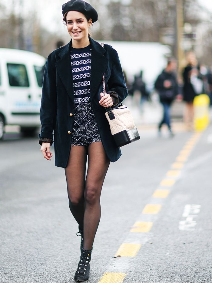 43 Street Shots of Girls in Chanel—Because Who Wouldn't Want That? via @WhoWhatWearUK