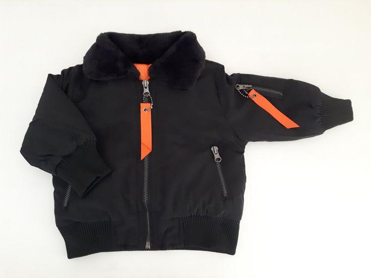 Stoere winterjas Alaska voor de kleine jongens van het merk Chicaprie