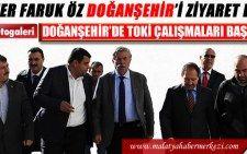 Malatya Haber Doğanşehir Belediye Başkanı Vahap Küçük Ömer Faruk Öz malatya haberlerihttp://www.malatyahabermerkezi.com