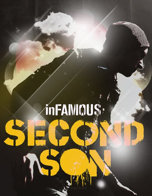 inFAMOUS second son, i watched my dad play through this when we FINALLY got a PS 4 (so excited)........im surprised he even let me touch it haha