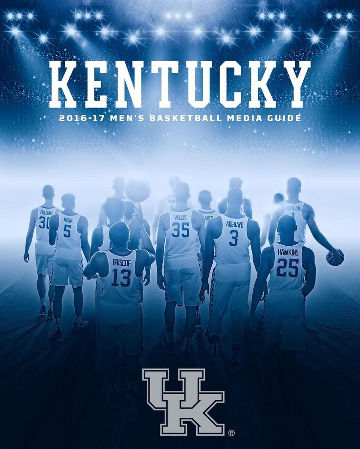 The front cover of our 2016-17 media guide. Check out the full publication at UKathletics.com. The media guide is NOT for sale.
