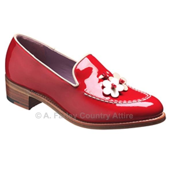 Barker Ladies Shoes – Daisy – Red Patent – Slip On http://www.afarleycountryattire.co.uk/shop/barker-ladies-shoes-daisy-red-patent-slip-on/ #barkershoes #brogues