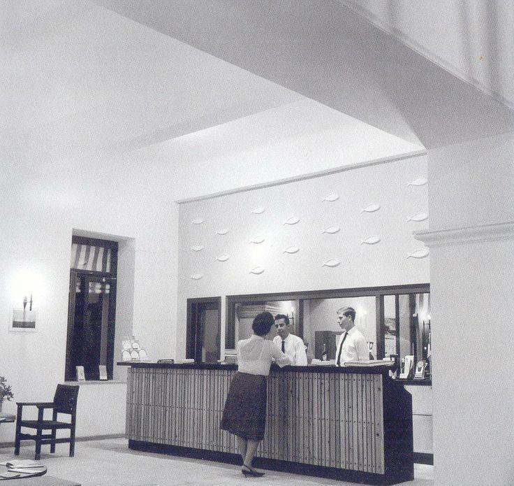The reception of the #MinosBeachArt in #1960 #Crete #AgiosNikolaos