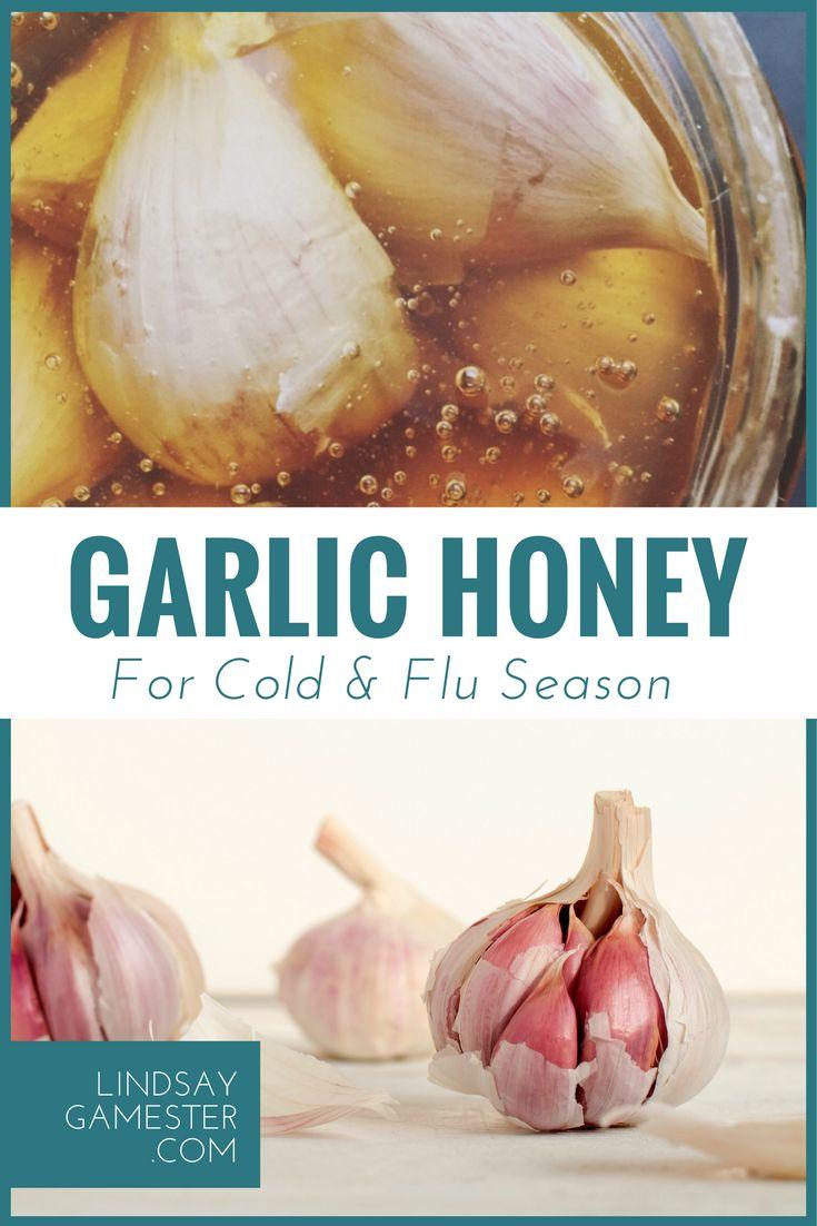 Garlic Honey for Cold and Flu Season // Herbal Remedy