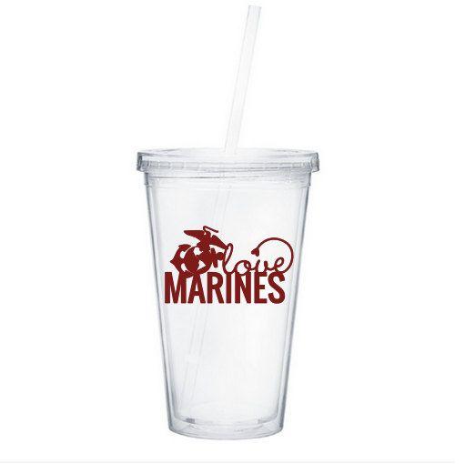 Marine Love Water Tumbler