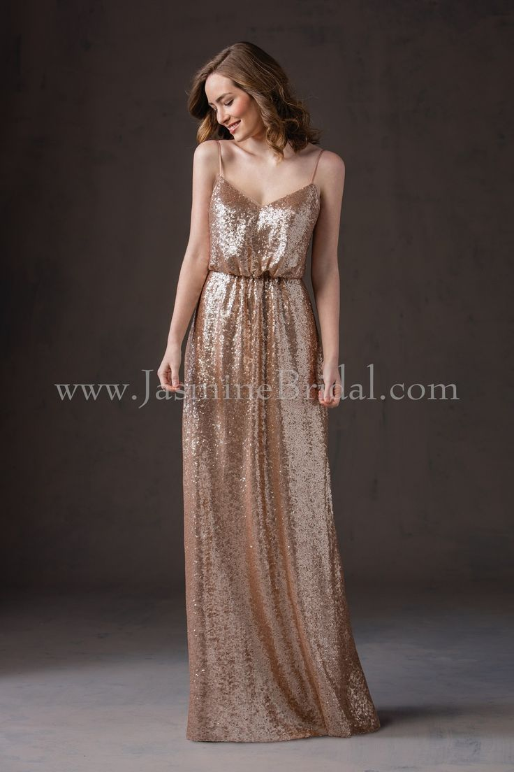 201 best bridesmaids images on pinterest bridesmaids wedding jasmine bridal bridesmaid dress belsoie style l184065 in light gold ombrellifo Images
