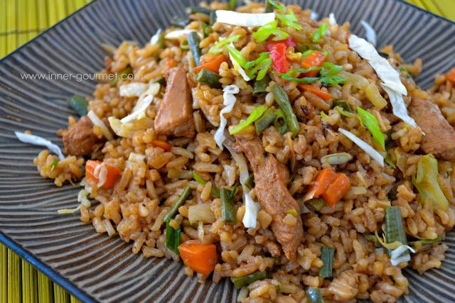 The Inner Gourmet: Guyanese-style Fried Rice