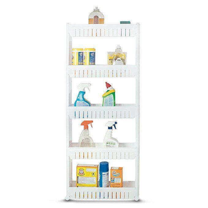 A Taller Laundry Are Sliding Shelf