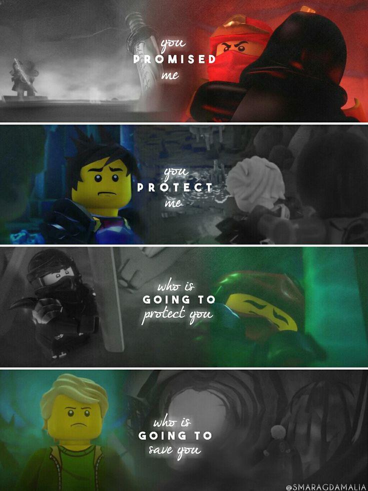 "• #LEGO #LEGONinjago #Ninjago #S5   • [""You promised me""] #quote • #Lloyd #LloydGarmadon #Kai #KaiSmith • My Edit. Hope you'll like it! :-)"