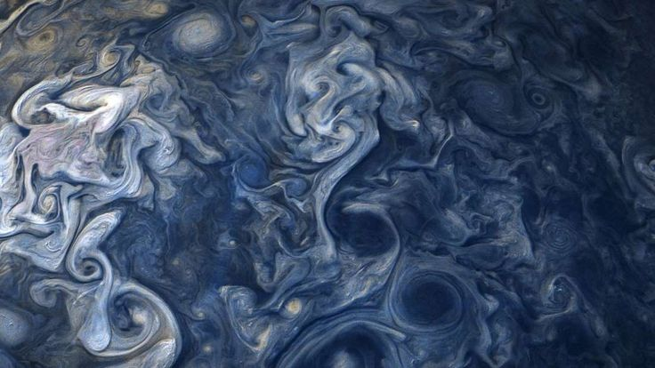 Take A Moment To Marvel At This Jaw-Dropping Image Of Jupiter's Storms