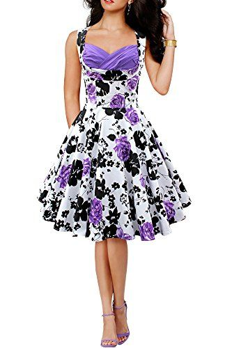 Black Butterfly 'Aura' Classic Serenity 50's Dress (White & Purple, US 4) Black Butterfly Clothing http://www.amazon.com/dp/B00LZY1MUC/ref=cm_sw_r_pi_dp_k3dkwb128RYC5