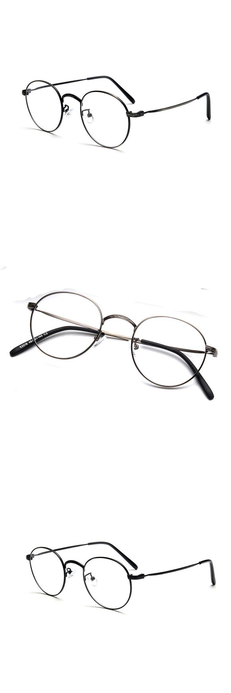 Men brand eyeglasses wholesale vintage optical eyewear glasses frame 2017 New spectacle frame computer clear glasses 52019