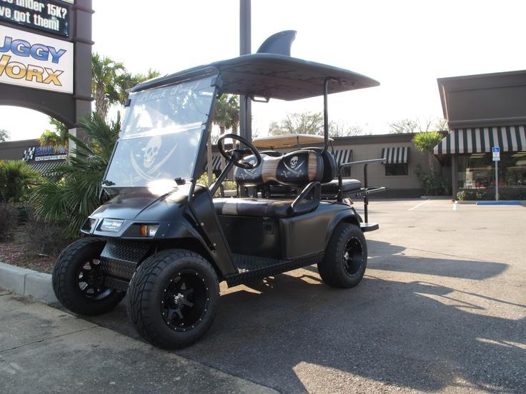 Black pearl custom golf carts golf carts custom golf