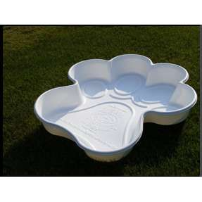 Bones and Paw shaped pools for dogs