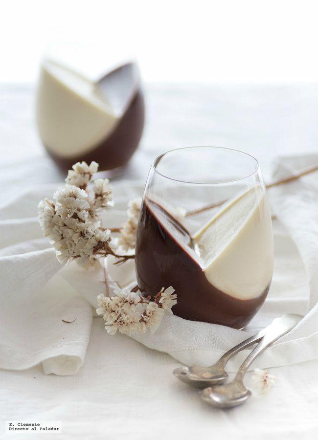 Panna cotta de Nutella y vainilla. Receta especial para San Valentín