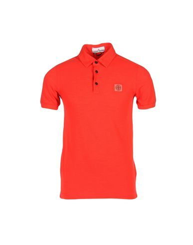 STONE ISLAND Polo Shirt. #stoneisland #cloth #top #pant #coat #jacket #short #beachwear