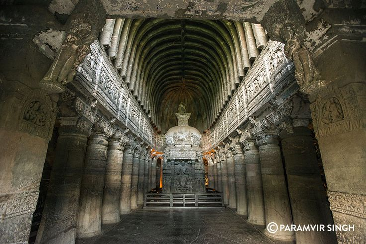 Ajanta Caves dating back to the 2nd Century BC will blow your mind with their detailed sculptures of Buddhist philosophy, life and folk tales, as well as amazing dry frescoes from that era.