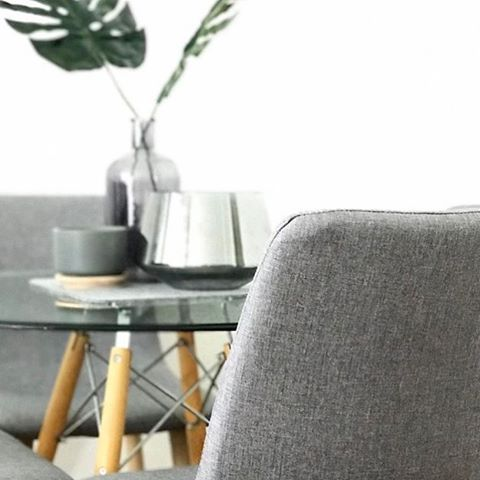 The new dining chairs all decor pieces on the table are kmart too! By @leighthomas28