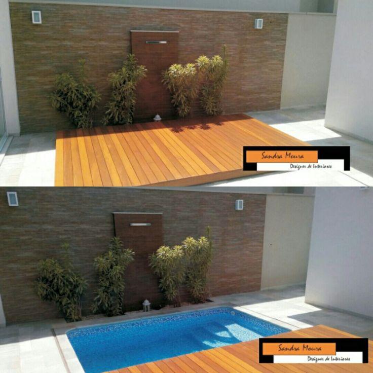 25 best ideas about piscina com deck on pinterest decks for Decoracion de patios chicos
