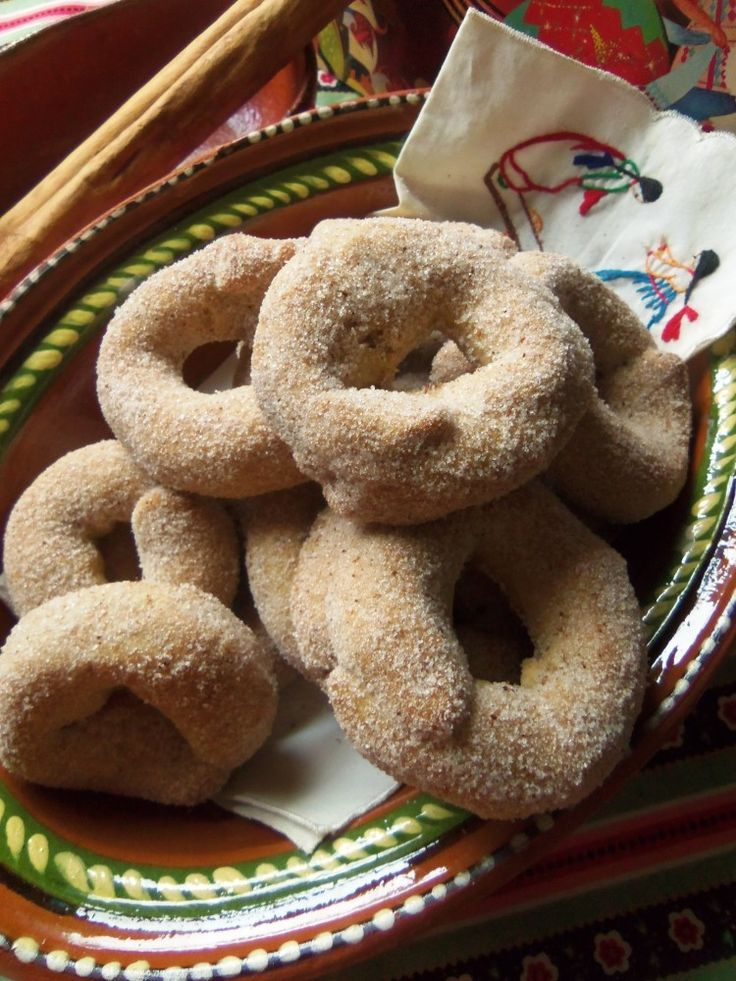 Roscas de Canela - Mexican Cinnamon Cookies - Hispanic Kitchen