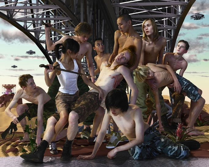 AES+F - Last Riot: The Bridge.