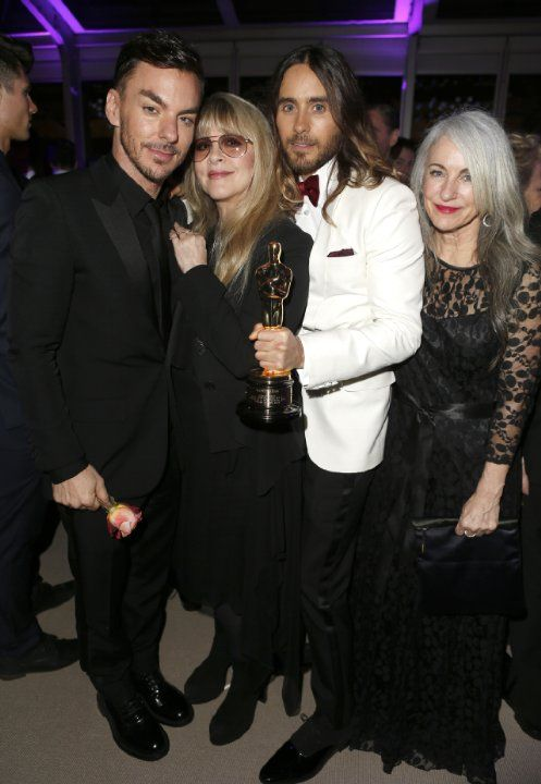 Jared Leto, Shannon Leto, Stevie Nicks and Constance Leto