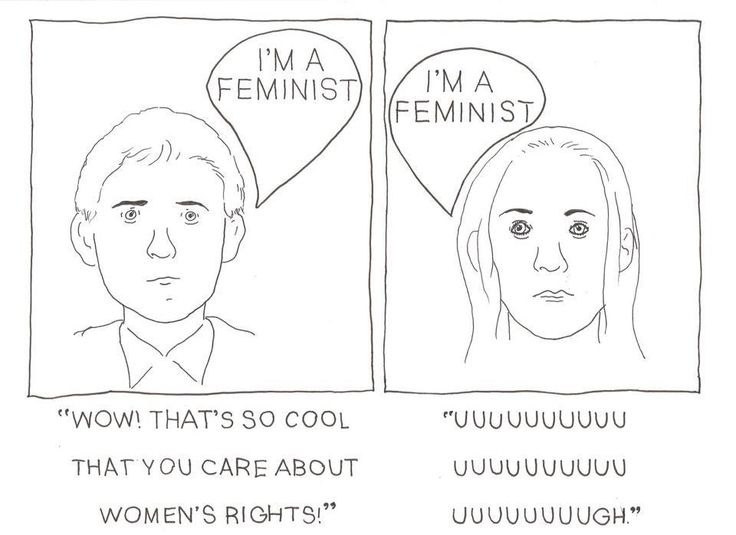 the double standard sexuality and feminism The double standard is not an anti-feminist phenomenon instead, it reflects the differences between men and women.