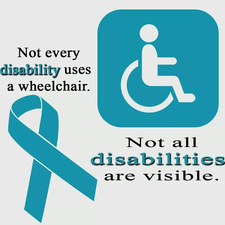 Ovarian Cancer Awareness ~ Not all disabilities are visable