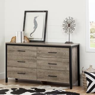 South Shore Munich Oak Laminate 6-drawer Double Dresser | Overstock.com Shopping - The Best Deals on Dressers