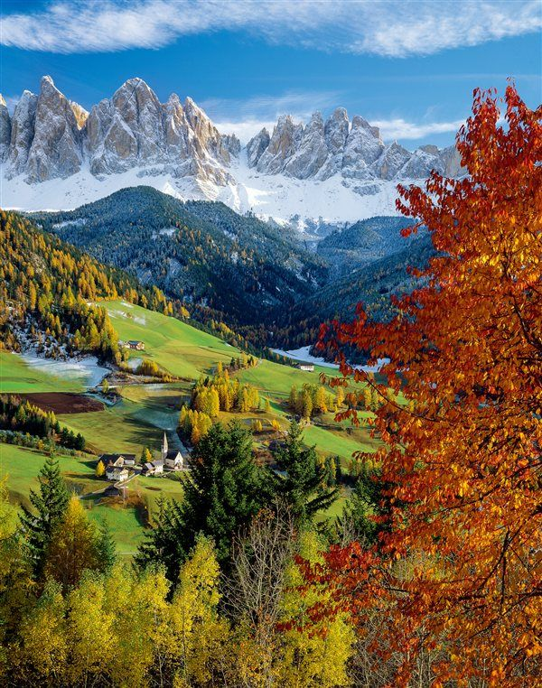 Val di Funes, tesoro de los Dolomitas