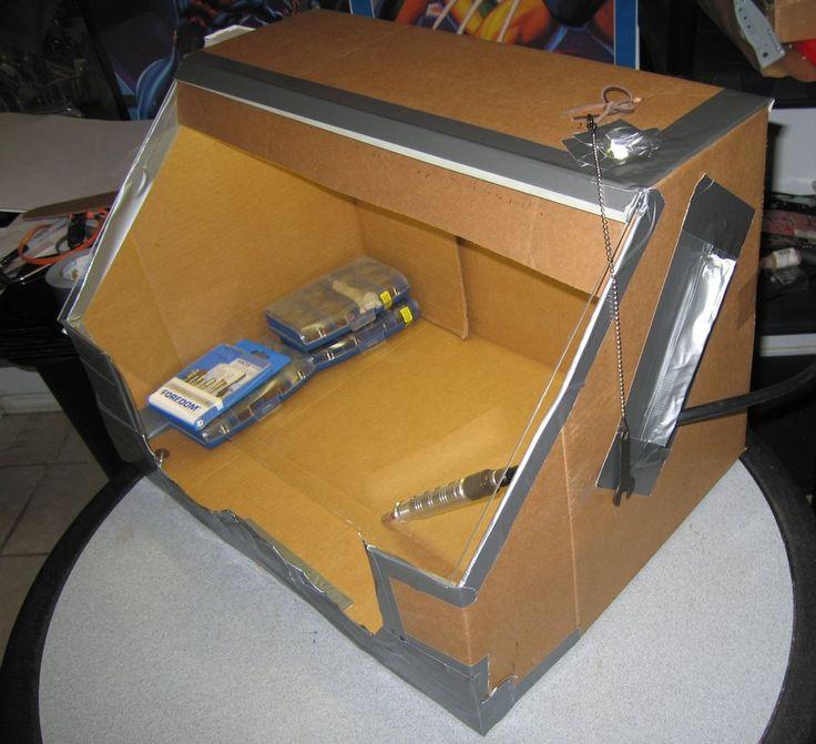DIY Rotary Tool Mess Box by Azmal.deviantart.com