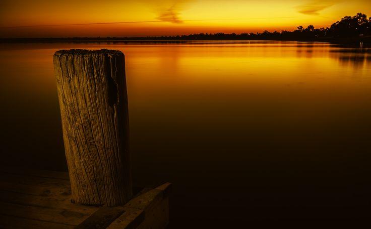 - W a r m   S i l e n c e - - Lake Bonney, Barmera, South Australia.