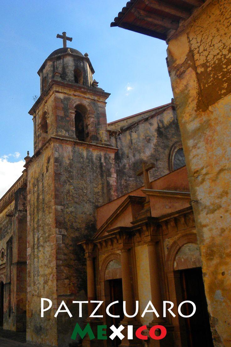 The pueblo magico town of patzcuaro michoac n mexico