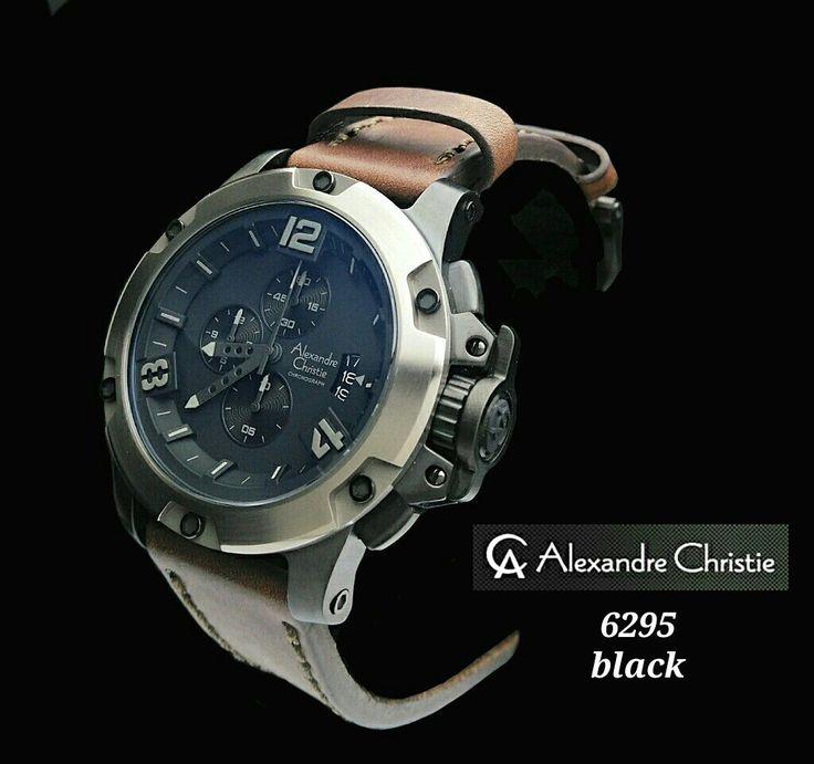 IDR,1,685.000 Alexander Christie 6295# Tali kulit.  Size 5cm.  Original Garansi Internasional 1thn.