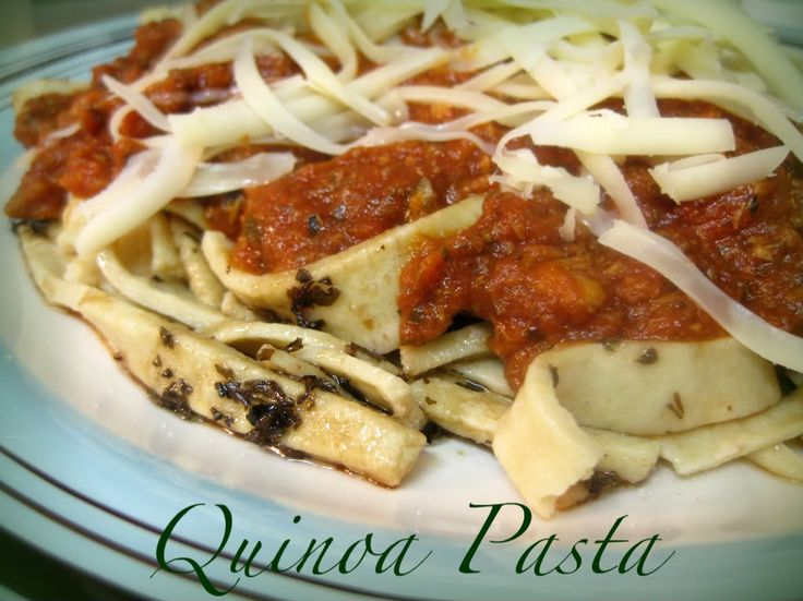 Homemade Quinoa Pasta