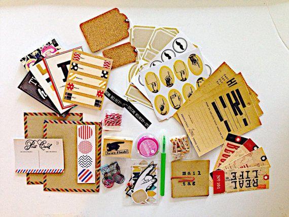 Auf Verkauf Retro Themed Snailmail Kit Schnecke von LostArtRevived