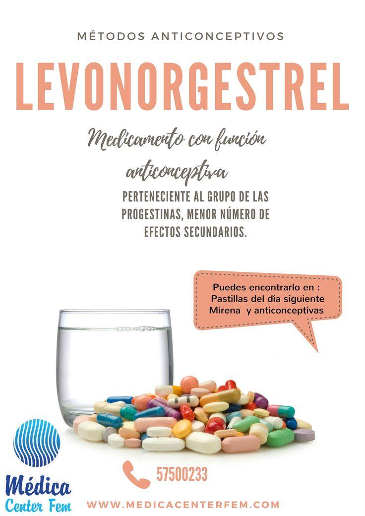 Levonorgestrel es una medicamento con una función anticonceptiva, sus capacidades  evitan la ovulación,