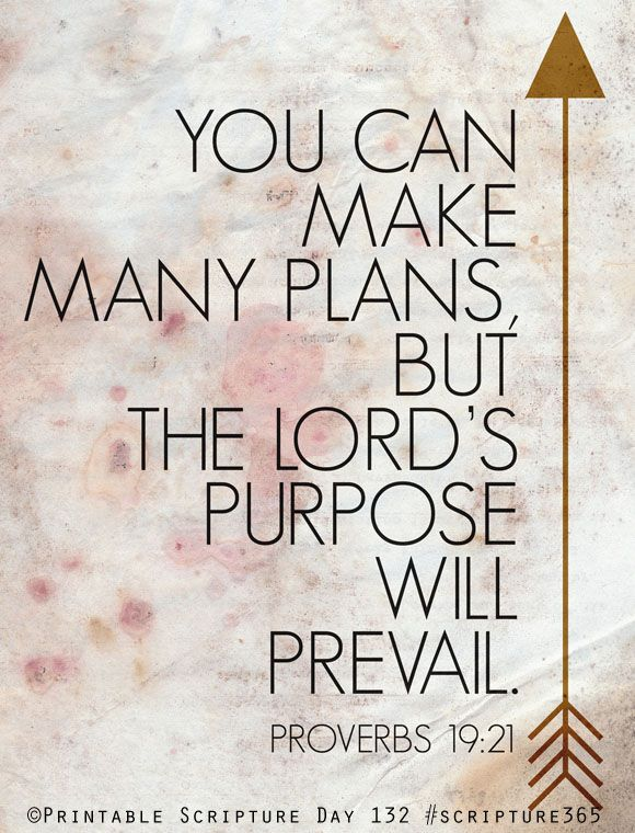 : The Lord, Inspiration, Quotes, Truth, Scripture, Bible Verses, Lord S Purpose, Proverbs 19 21