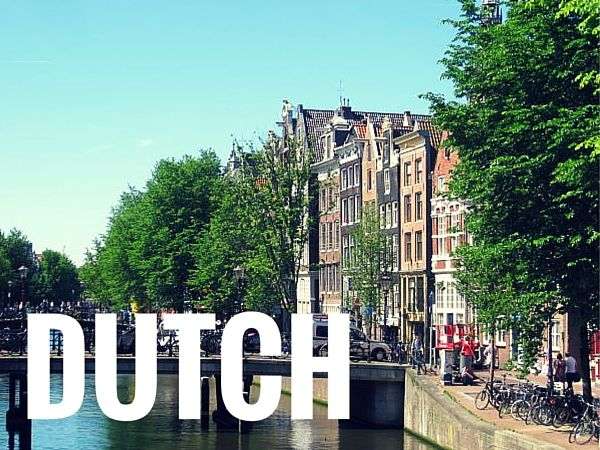 Dutch Language Lessons with Free Audio - Learn the Dutch Language with Native Speaker Recordings of Vocabulary Lists and Sample Sentences