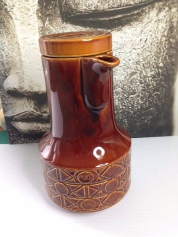 Vintage BESWICK Large Coffee or Tea Pots Brown Mid-Century